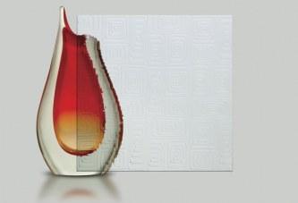 Nova textura de vidro impresso está disponível no mercado