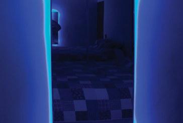 Espelho pode virar luminária