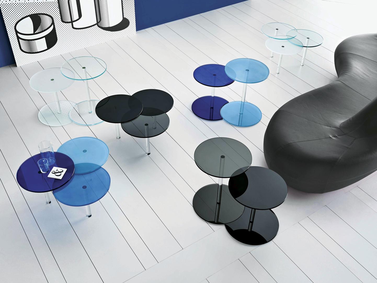 O vidro no design de móveis