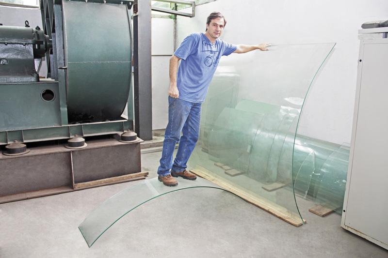 Nova realidade para os vidros curvos