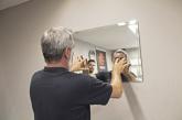 Novo sistema para fixação de vidros e espelhos em paredes