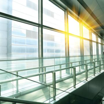 Vidros que se pagam insulados e laminados de controle solar